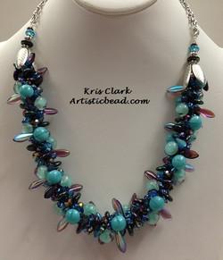 Kumi Ne blue and purple Kris Clark WM W