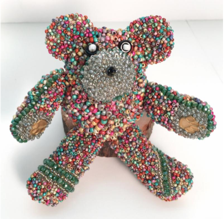 Best Bead Embroidered Bear
