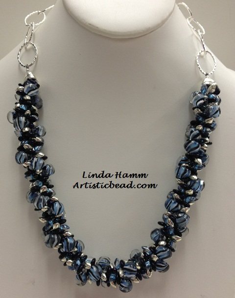 Kumi Ne blue stripes Linda Hamm WM W