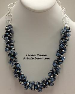 Kumi Ne blue stripes Linda Hamm WM W