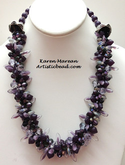 Kumi Ne dk purples Karen Marean WM W