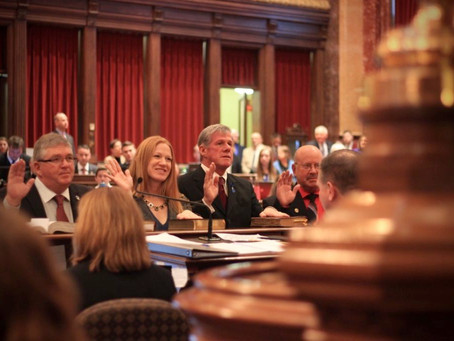 2017 Legislature:  Republicans Took Aim At Workers' Rights, Women's Rights & Schools.