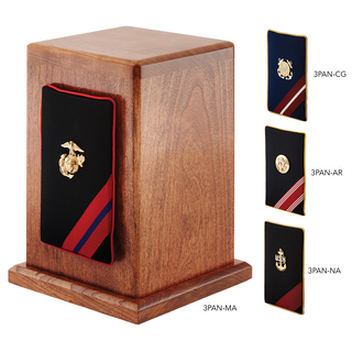 Military panel urn