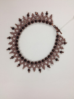 Crystal Lace Bracelet in rosecpr Paula Binner