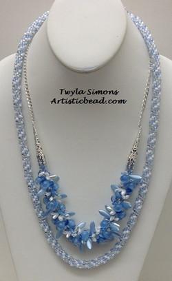 Kumi Ne double ice blue Twyla Simons WM W