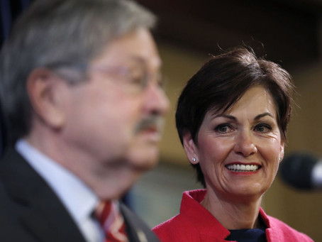 Gov. Reynolds continues Branstad's Mismanagement of Iowa's Cash