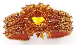 Starburst Orange Bracelet - Kris Larsen