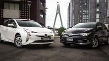 Toyota Corolla Hybrid v Toyota Prius Comparison