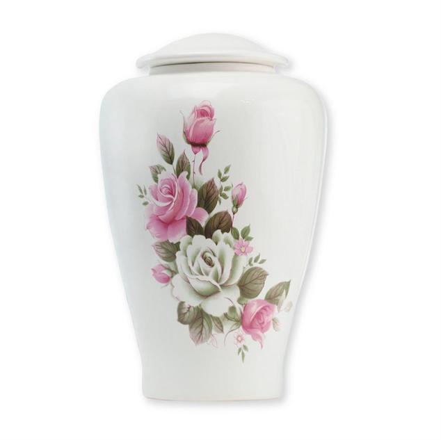 Ivory Rose urn