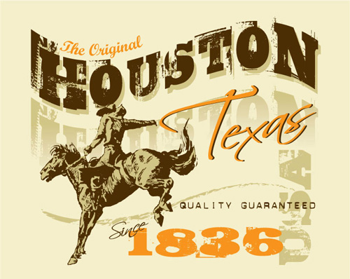 Houston Texas 1836