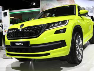 New 2017 Skoda Kodiaq SUV brightens up Paris Motor Show