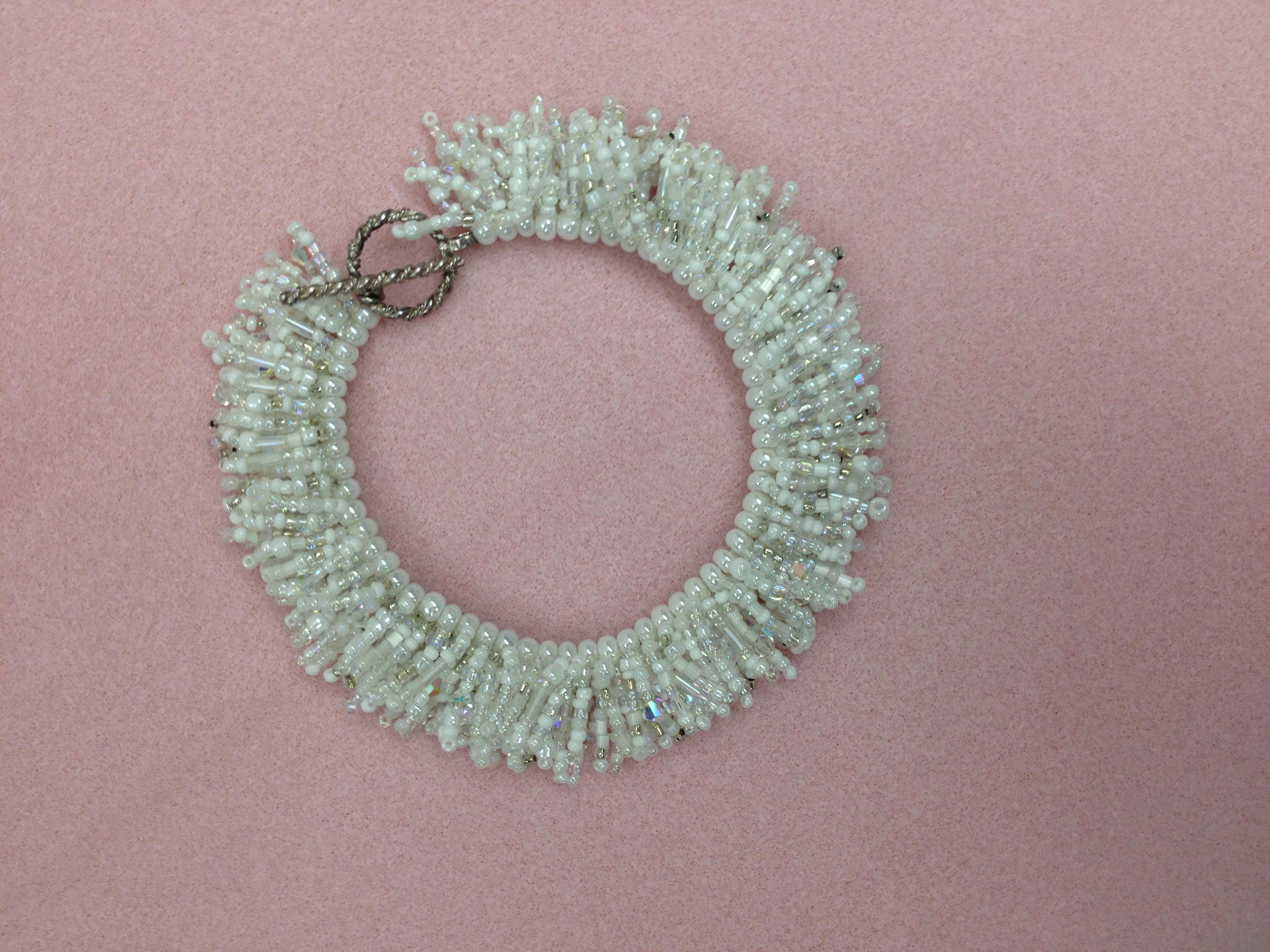 shaggy spike bracelet white.JPG