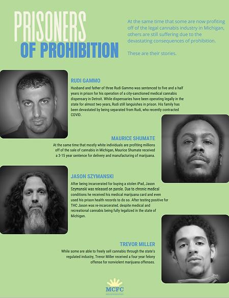Clemency Campaign Prisoners of Prohibiti