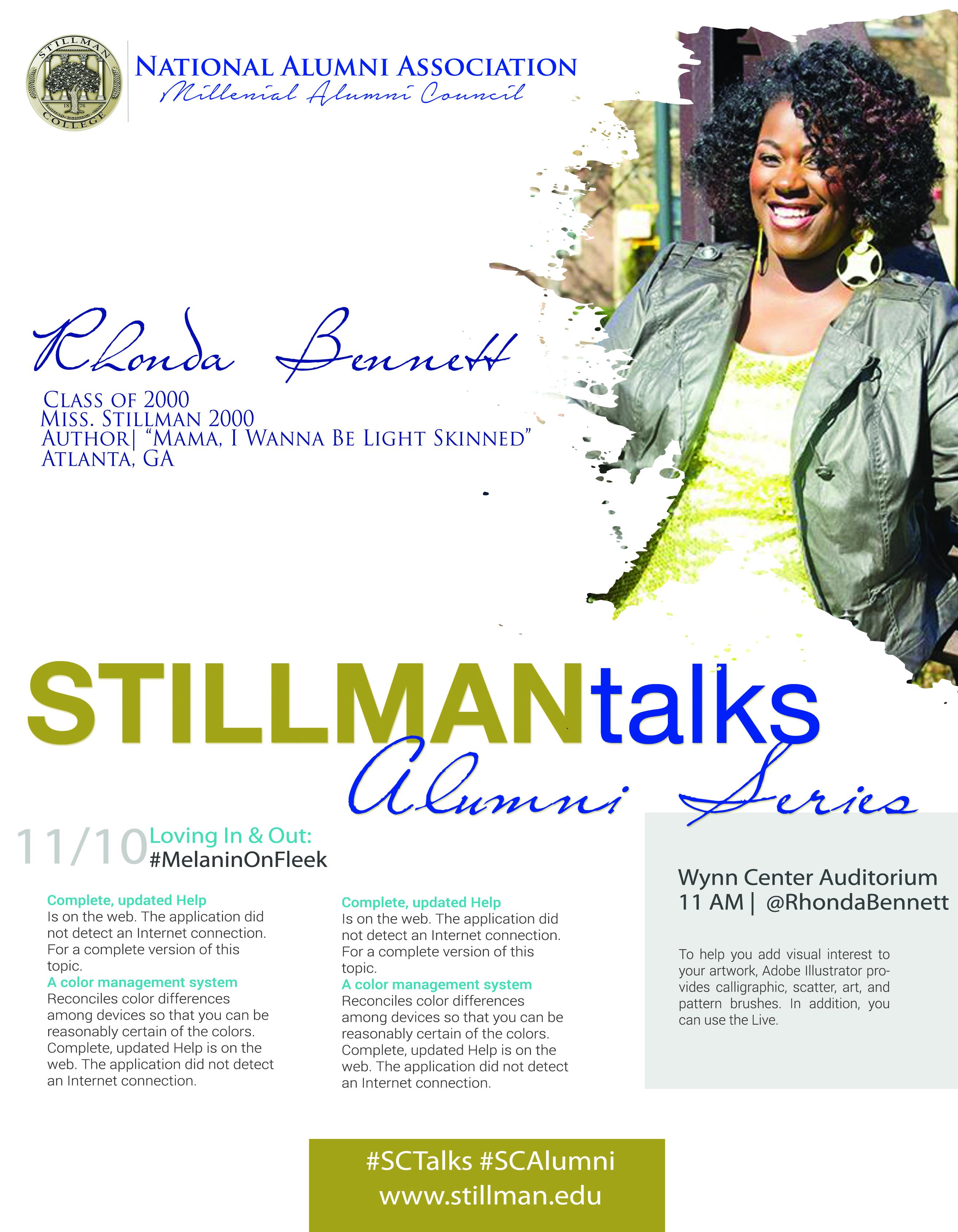 Alumni Talks Flyer_RhondaBennett.jpg