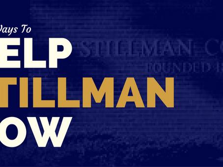 4 Ways To Help #STILLMAN Right Now!