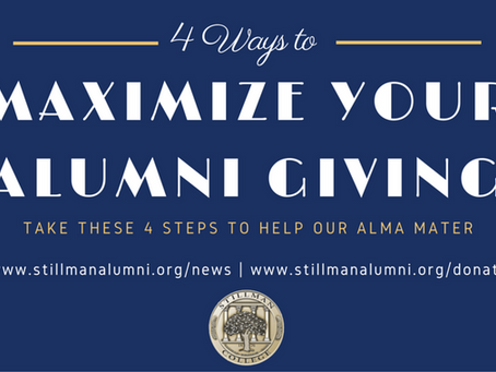 4 Ways to Maximize Your Alumni Giving