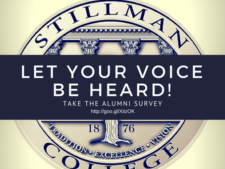 UPDATED: LET YOUR VOICE BE HEARD!!! Take the Alumni Survey