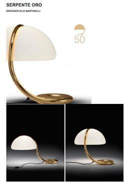 Serpente Oro by Martinelli Luce