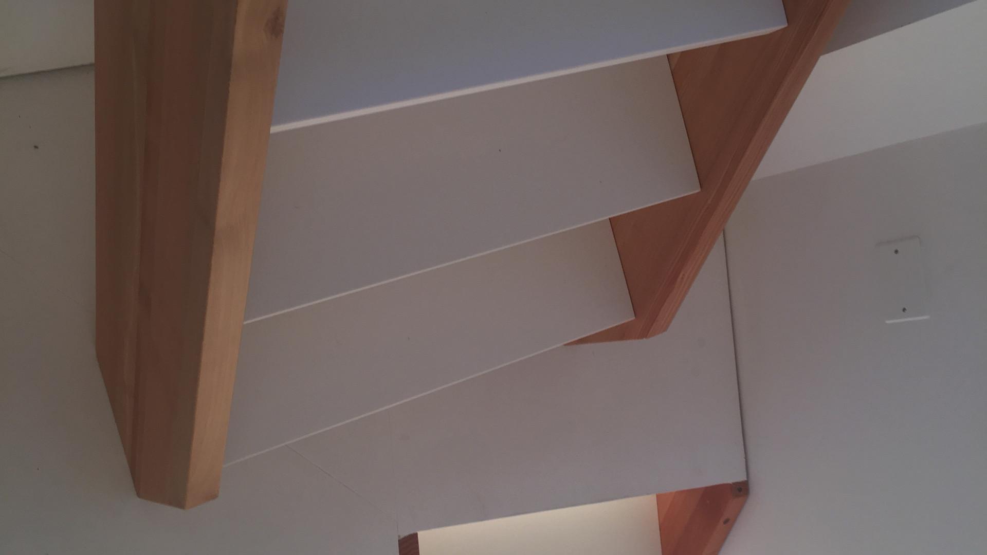 Escadas vista de cima