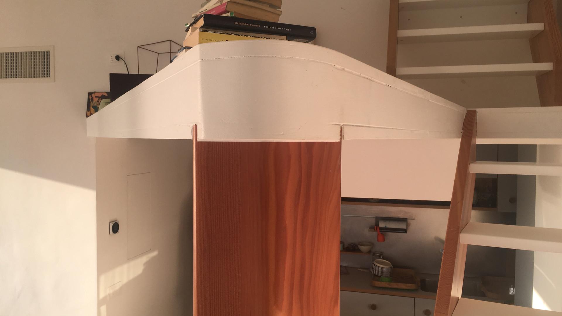 Detalhe do primeiro nivel de mezanino