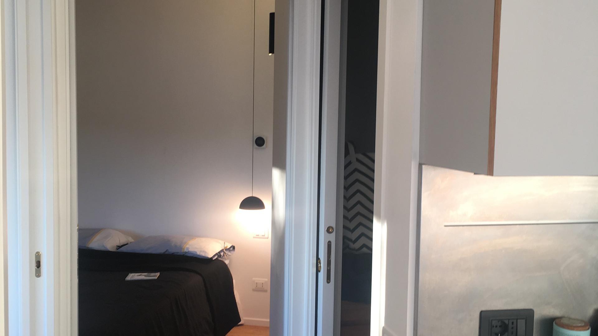 Entrada no quarto