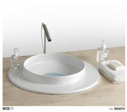 Wide by White Ceramic