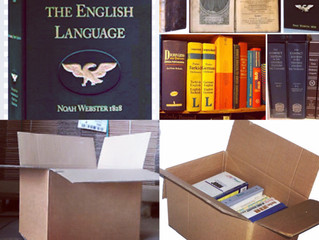 Packing books and heavier items.