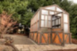 Rustic Midnight Premium Greenhouse