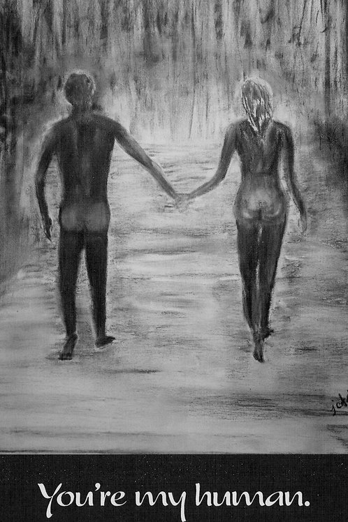 """""""Naked in the Rain"""" CARD"""