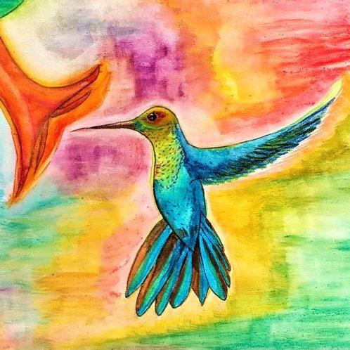"""Hummingbird"" CARD"