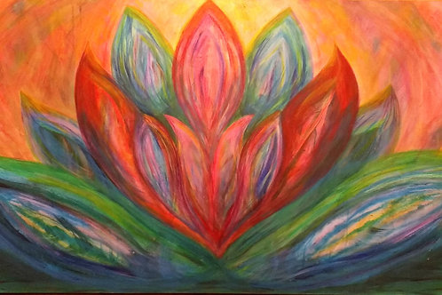 """The Lotus"" CANVAS PRINTS from"