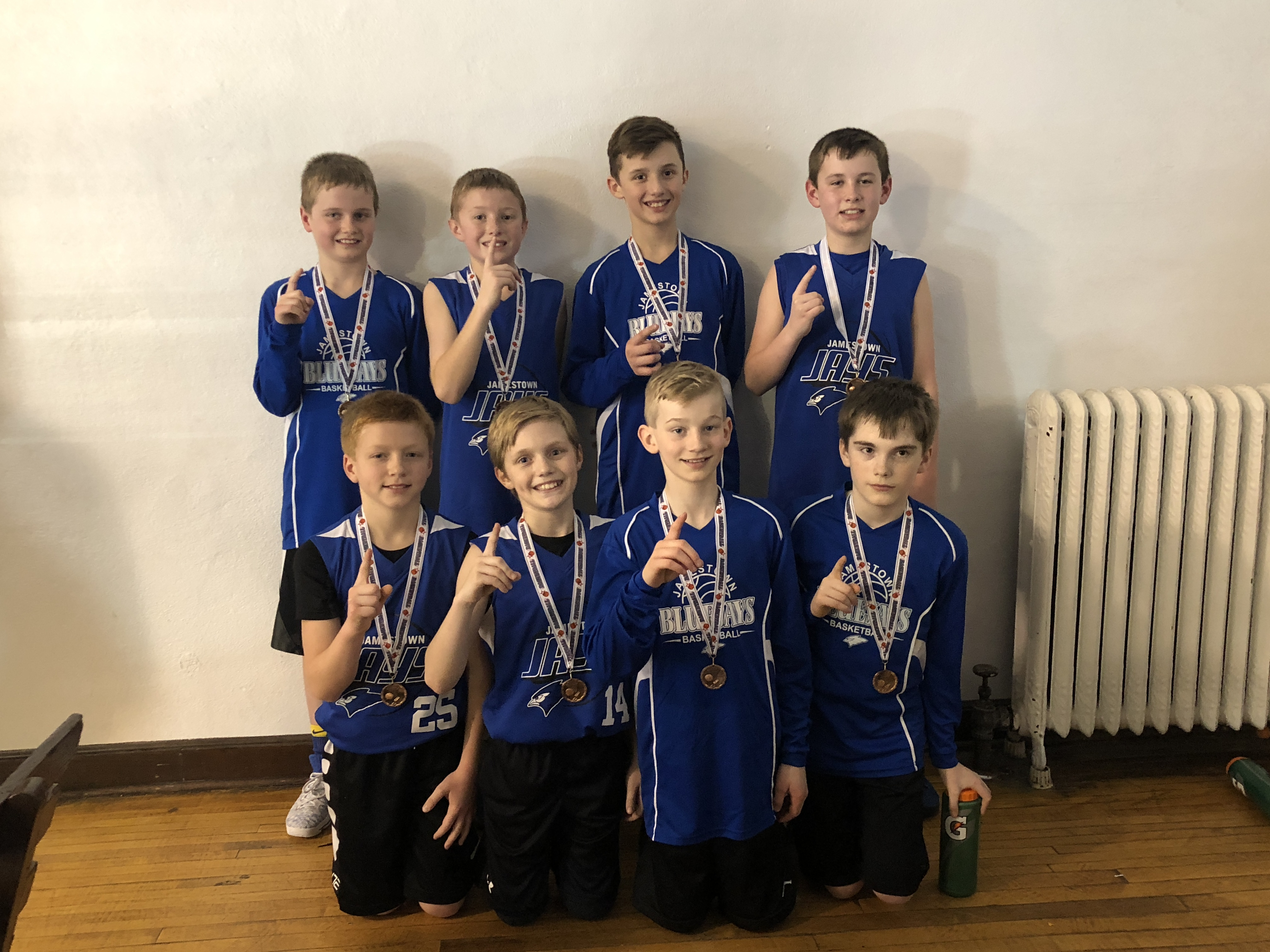 5th Grade Boys Take 1st Place in New Rockford 3-11-18