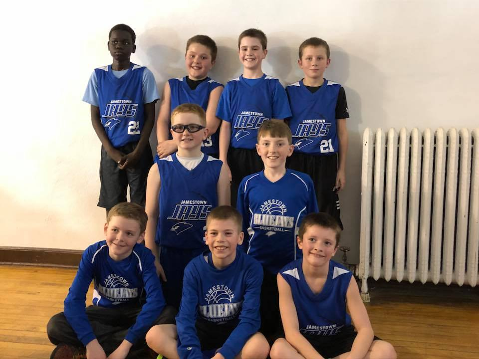 5th Grade Boys Take 2nd Place in New Rockford 3-11-18