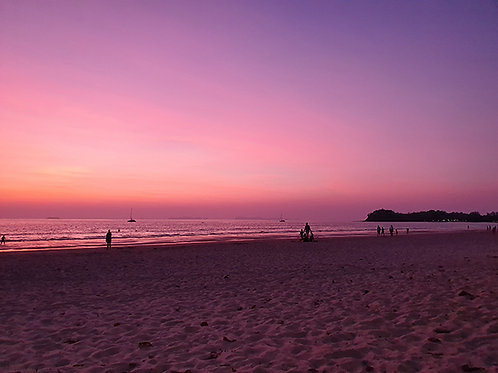 Beach Sunsets of Thailand