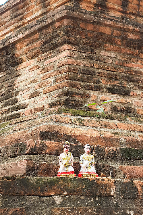Thailand Buddha Temple Figurines