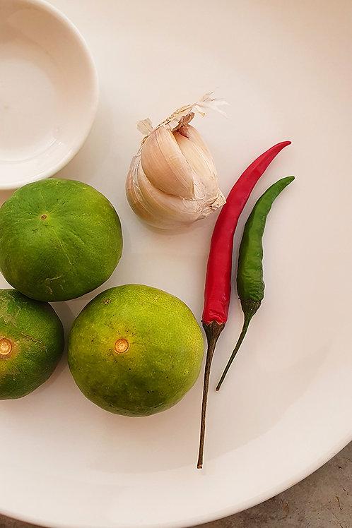 Limes, Chillies & Garlic