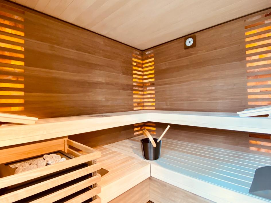Sauna Varioline mit Entspannungsbereich