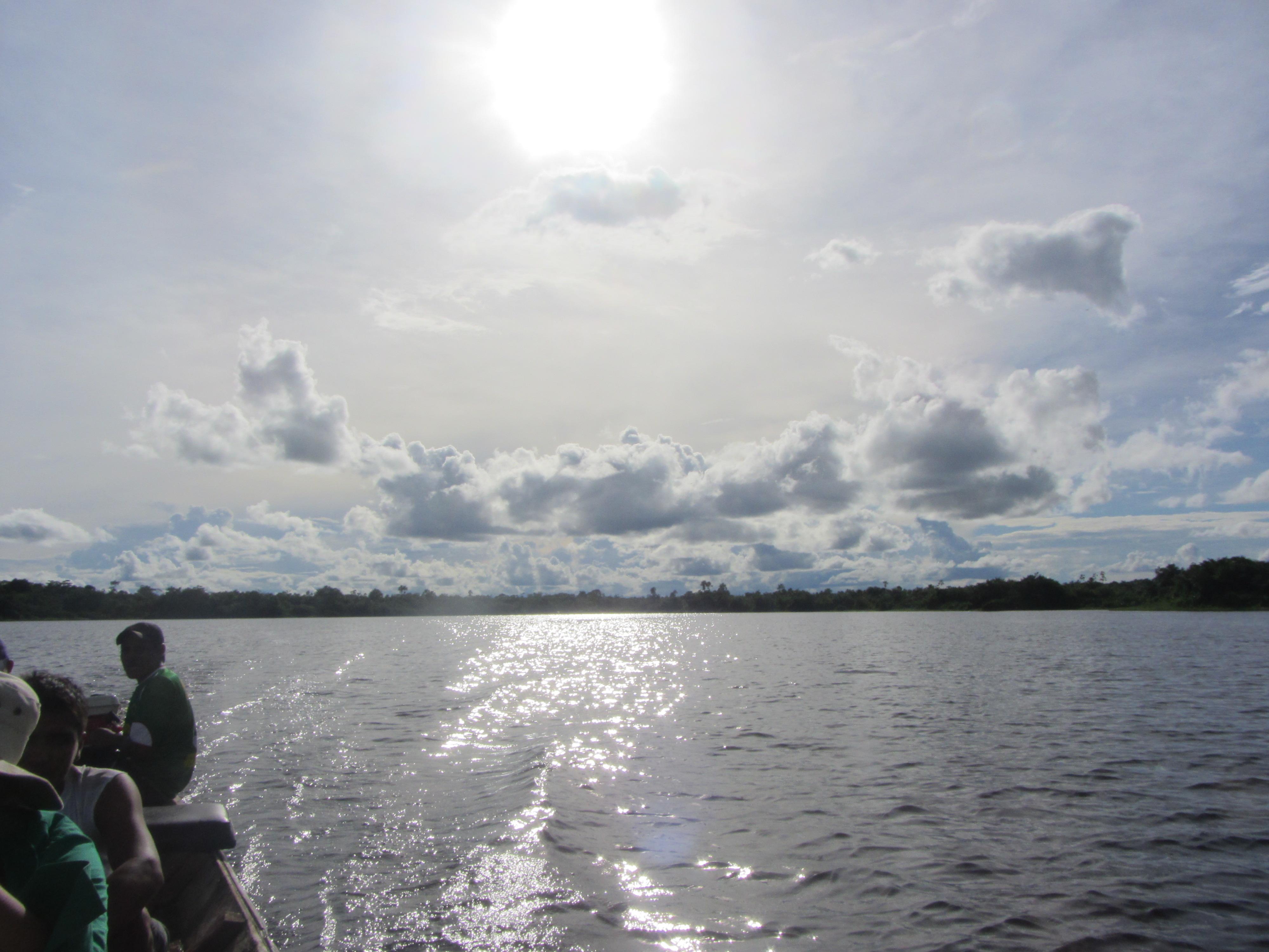 laguna de Santa Maria ayahuasca ojo