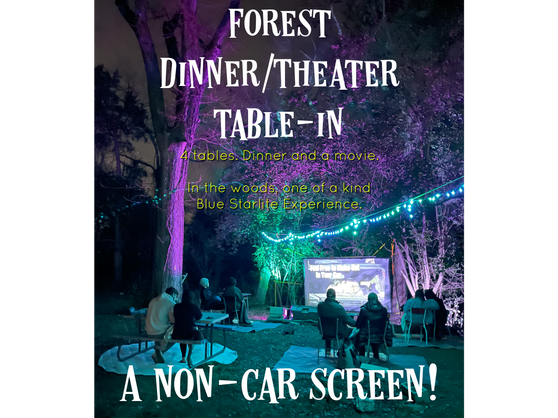 Forest Picnic screen- 8 people (4 tables)