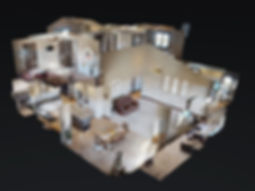 3D tour dollhouse view, matterport.