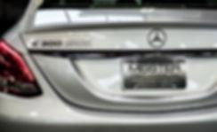 Mercedes C300 back, Meister Motors Greenville, WI.