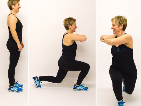 Lunge-Twist als Warm-up