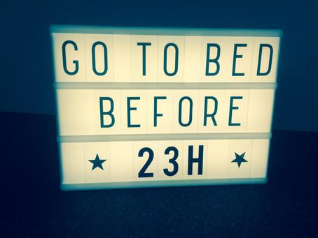 Challenge yourself: sleep enough!