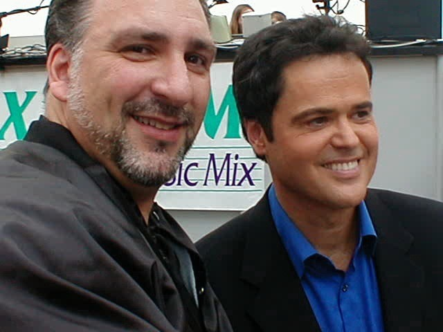 """Brooklyn Mike"" & ""Donny Osmond"""