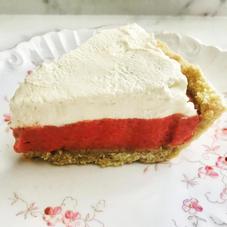 Strawberries and Cream Pie $38