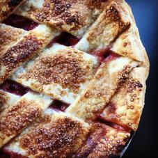Rhubarb Pie $36