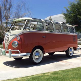 1962 Split Samba Bus