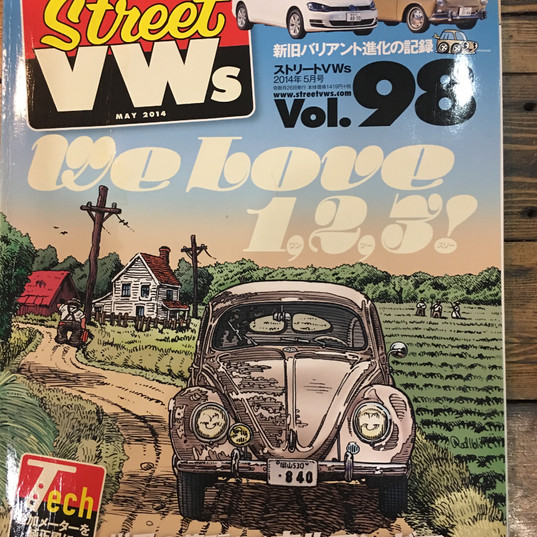 Street VW's May 2014