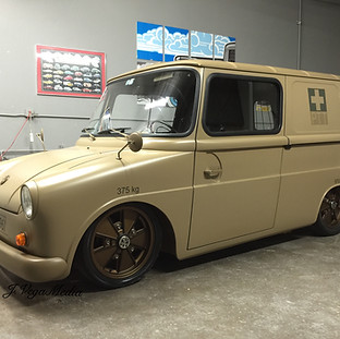 1972 Fridolin Postal Truck