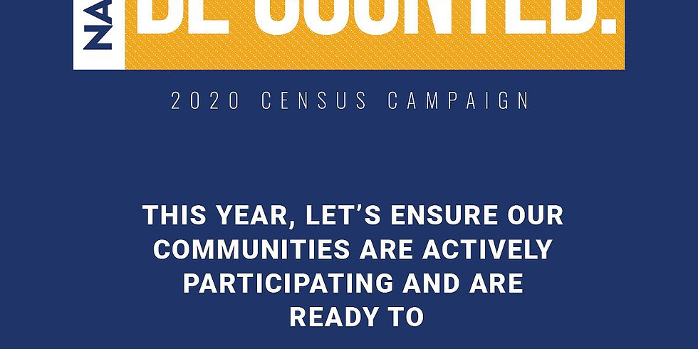 2020 CENSUS #BECOUNTED